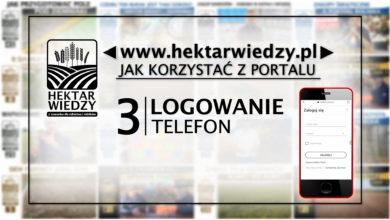 Photo of JAK KORZYSTAĆ Z PORTALU | 3 [LOGOWANIE – TELEFON]